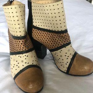 Gold Button Shoes